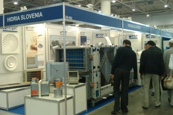 Excellent response at the fair Aqua-Therm in Kiev