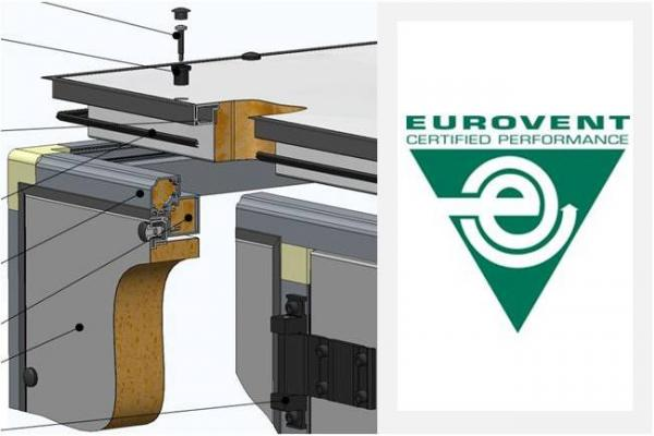 Eurovent certificate for air handling unit TopAir