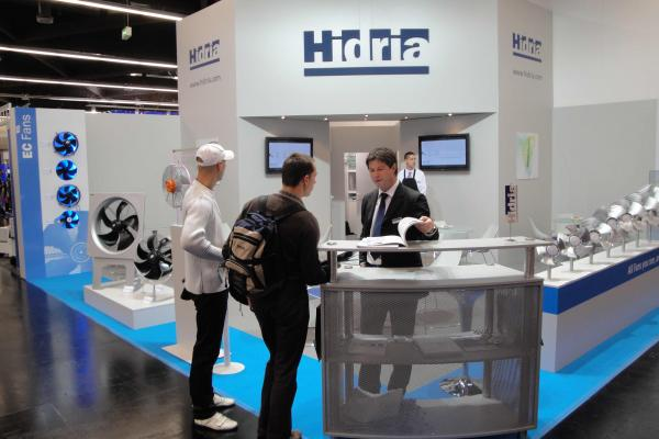 Hidria at Chillventa Fair with energy efficient solutions