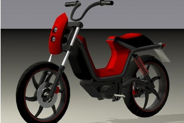 First electric moped produced based on Slovenian know-how