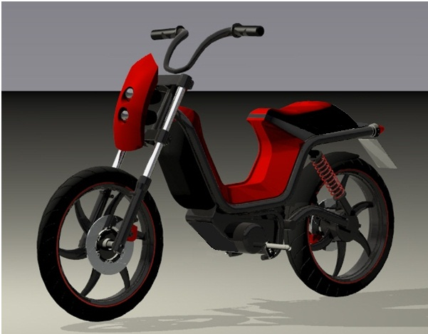 Wonderbaarlijk First electric moped produced based on Slovenian know-how » Hidria LP-48