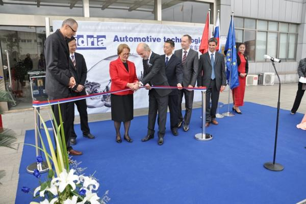 Hidria opens production of automotive technologies in China