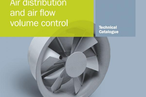 New tehnical catalogue for air distribution and air flow volume control