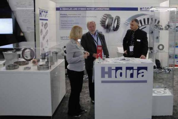 Hidria Green Mobility Solutions at the eCarTec Trade Fair